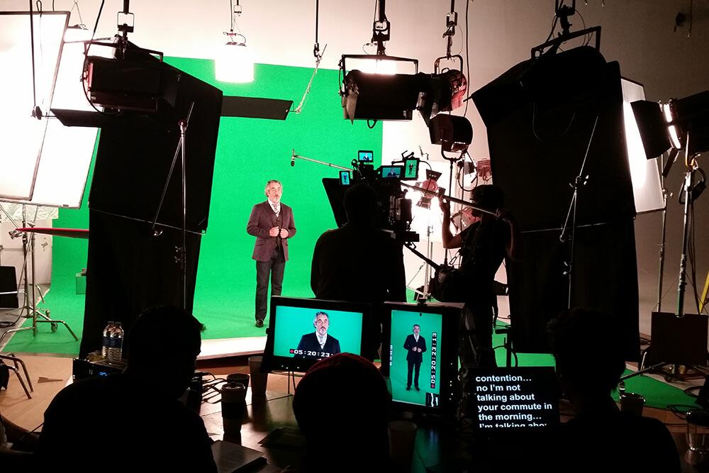 behind the scenes film studio