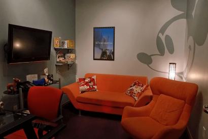 Live Shot Studio - Disney Green Room at AMS Studios in Dallas Texas