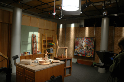 Facility - Studio - B - Set at AMS Studios in Dallas Texas