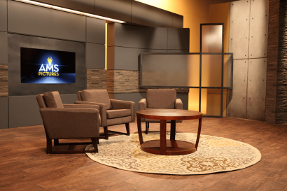 The Loft Set 3 Chairs and Table at AMS Studios in Dallas Texas